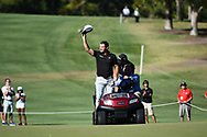 PERTH, AUSTRALIA - FEBRUARY 17: Ryan Fox (NZL) coming-up the 18th after the match play of the ISPS Handa World Super 6, Lake Karrinyup Country Club, Perth, Western Australia, on February 17, 2019. <br /> .<br /> .<br /> .<br /> (Photo by: Naratip Golf Srisupab/SEALs Sports Images)<br /> .<br /> Any image use must include a mandatory credit line adjacent to the content which should read: Naratip Golf Srisupab/SEALs Sports Images