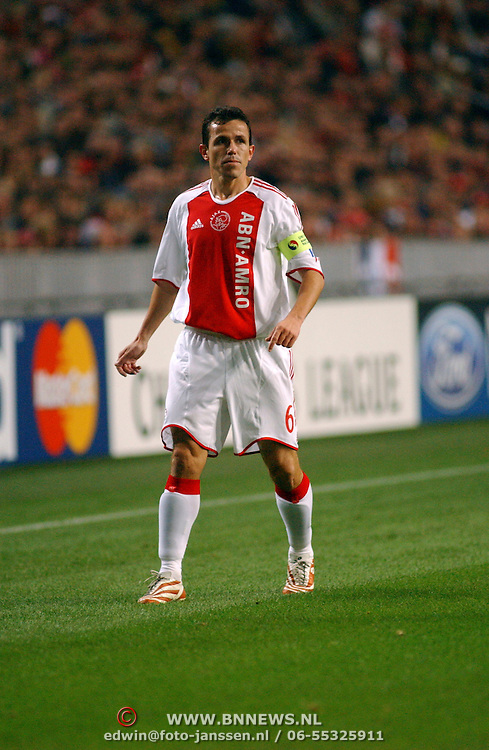 NLD/Amsterdam/20051018 - Champions League wedstrijd Ajax - FC Thun, Tomas Galasek