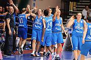 DESCRIZIONE : Latina Qualificazioni Europei Francia 2013 Italia Grecia<br /> GIOCATORE : Esultanza Team Italia<br /> CATEGORIA : Esultanza<br /> SQUADRA : Nazionale Italia<br /> EVENTO : Latina Qualificazioni Europei Francia 2013<br /> GARA : Italia Grecia<br /> DATA : 11/07/2012<br /> SPORT : Pallacanestro <br /> AUTORE : Agenzia Ciamillo-Castoria/GiulioCiamillo<br /> Galleria : Fip 2012<br /> Fotonotizia : Latina Qualificazioni Europei Francia 2013 Italia Grecia<br /> Predefinita :