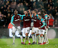 West Ham United v West Bromwich Albion 02/01/2018