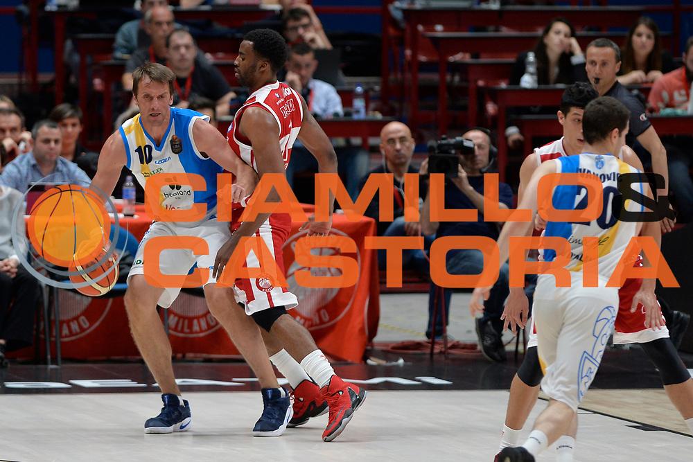 Sandro Nicevic<br /> Olimpia EA7 Emporio Armani Milano vs Vanoli Cremona<br /> Lega Basket Serie A 2016/2017<br /> PlayOff semifinale gara 2<br /> Milano 14/05/2017<br /> Foto Ciamillo-Castoria / I.Mancini