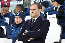 December 9, 2017 - Turin, Piedmont, Italy - Massimiliano Allegri, head coach of Juventus FC, before the Serie A football match between Juventus FC and FC Internazionale at Allianz Stadium on 09 December, 2017 in Turin, Italy. (Credit Image: © Massimiliano Ferraro/NurPhoto via ZUMA Press)