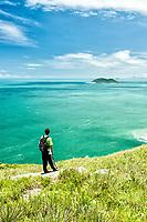 Trilha para a Praia da Lagoinha do Leste. Florianópolis, Santa Catarina, Brazil. / Trail to Lagoinha do Leste Beach. Florianopolis, Santa Catarina, Brazil.