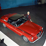 This 1963 Studebaker Gran Turismo Hawk was pictured on the cover of Motor Trend's June 1963 issue.  It featured a non-production paint scheme and wire wheels.