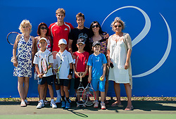 Kids day during Day Five of tennis tournament ATP Challenger Tilia Slovenia Open 2013 on July 6, 2013 in SRC Marina, Portoroz / Portorose, Slovenia. (Photo by Vid Ponikvar / Sportida.com)
