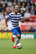 Daniel Williams of Reading in action during the Sky Bet Championship match at The Valley, London<br /> Picture by Andrew Tobin/Focus Images Ltd +44 7710 761829<br /> 05/04/2014