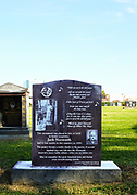 Jack Norworth Memorial Monument at Melrose Abbey Park