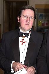 LORD ROBERTSON, head of NATO, at a dinner <br /> in London on 19th June 2000.OFL 11<br /> © Desmond O'Neill Features:- 020 8971 9600<br />    10 Victoria Mews, London.  SW18 3PY <br /> www.donfeatures.com   photos@donfeatures.com<br /> MINIMUM REPRODUCTION FEE AS AGREED.<br /> PHOTOGRAPH BY DOMINIC O'NEILL