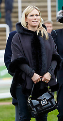 Zara Phillips attends the Paddy Power Gold Cup at Cheltenham Racecourse. Saturday, 16th November 2013. Picture by i-Images