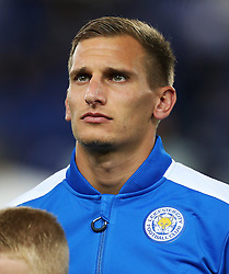 Marc Albrighton of Leicester City - Mandatory by-line: Matt McNulty/JMP - 27/09/2016 - FOOTBALL - King Power Stadium - Leicester, England - Leicester City v FC Porto - UEFA Champions League