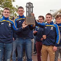 Clare U21 Team arriving