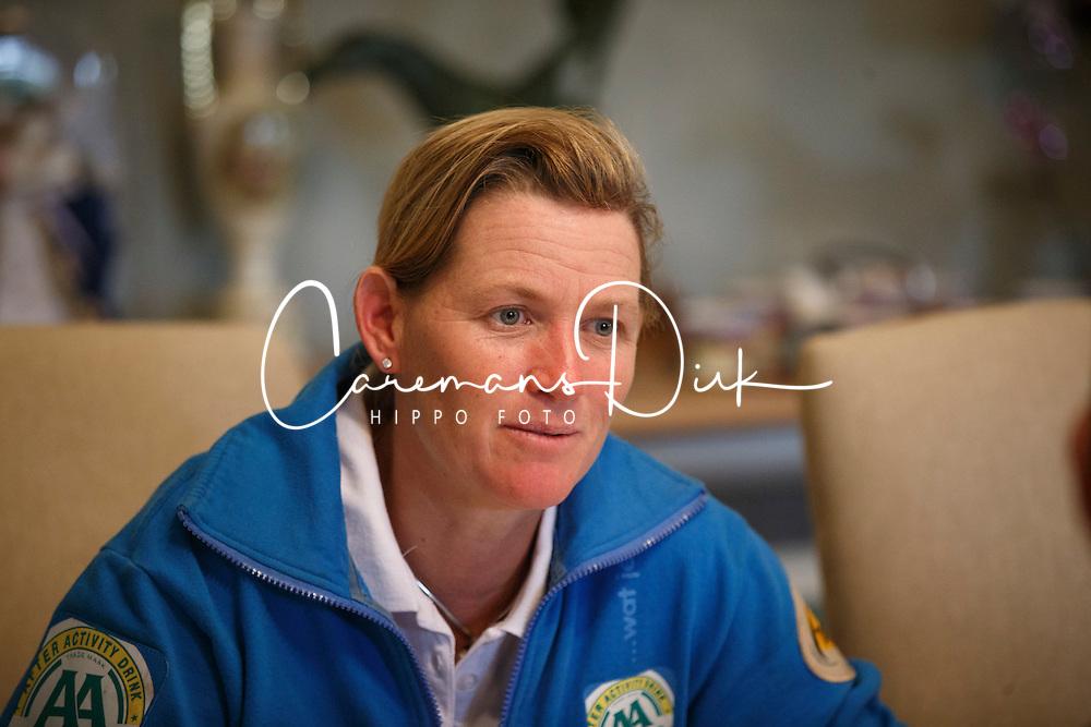 At home with Karin Donckers<br /> Donckers stablers - Minderhoud 2014<br /> © Dirk Caremans<br /> 14/10/14