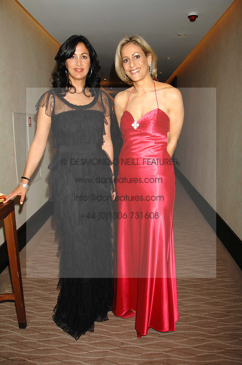 Left to right, author POLLY SAMSON News presenter EMILY MAITLIS at the 2007 Costa Book Awards held at The Intercontinental Hotel, One Hamilton Place, London W1 on 22nd January 2008.<br /><br />NON EXCLUSIVE - WORLD RIGHTS (EMBARGOED FOR PUBLICATION IN UK MAGAZINES UNTIL 1 MONTH AFTER CREATE DATE AND TIME) www.donfeatures.com  +44 (0) 7092 235465