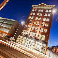 Globe Building Exterior Photography for Centric Projects