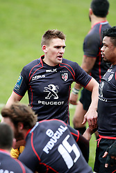 Toby Flood. Stade Toulousain v Bath, European Champions Cup 2015, Stade Ernest Wallon, Toulouse, France, 18th Jan 2015.