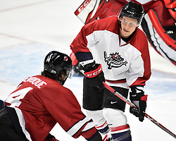 Action from the CHL Alumni Game at the 2017 MasterCard Memorial Cup at the WFCU Centre in Windsor, ON on Saturday May 27, 2017. Photo by Aaron Bell/CHL Images