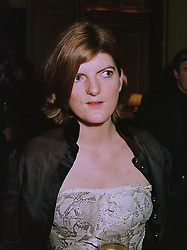 LADY LARA COMPTON at a party in London on 1st December 1997.<br /> MDW 23