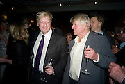 RACHEL JOHNSON, BORIS JOHNSON AND STANLEY JOHNSON, The Spectator 180th Anniversary party, at the Churchill Hotel, London, 7 May 2008.  *** Local Caption *** -DO NOT ARCHIVE-© Copyright Photograph by Dafydd Jones. 248 Clapham Rd. London SW9 0PZ. Tel 0207 820 0771. www.dafjones.com.