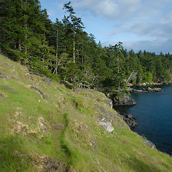 West Side of Jones Island State Park, San Juan Islands, Washington, US