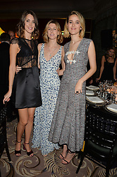 Left to right, CHLOE HERBERT, SUSANNA WARREN and FRANCESCA HERBERT at the 26th Cartier Racing Awards held at The Dorchester, Park Lane, London on 8th November 2016.