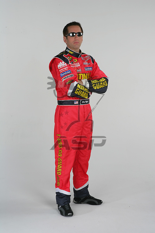 Concord, NC - Dec 20, 2005:  The No 16 National Guard Ford Fusion is photographed at D3 Studios in Concord, NC.