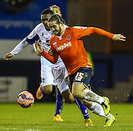 Luke Rooney of Luton Town during the The FA Cup match at Kenilworth Road, Luton<br /> Picture by David Horn/Focus Images Ltd +44 7545 970036<br /> 16/12/2014