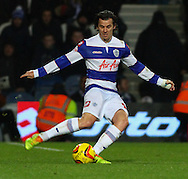 Picture by David Horn/Focus Images Ltd +44 7545 970036<br /> 07/12/2013<br /> Joey Barton of Queens Park Rangers during the Sky Bet Championship match at the Loftus Road Stadium, London.