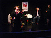 Kinvara Balfour, Dazed and Abused by Kinvara Balfour, the Canal Cafe theatre. London W2. 4 October 2004. ONE TIME USE ONLY - DO NOT ARCHIVE  © Copyright Photograph by Dafydd Jones 66 Stockwell Park Rd. London SW9 0DA Tel 020 7733 0108 www.dafjones.com
