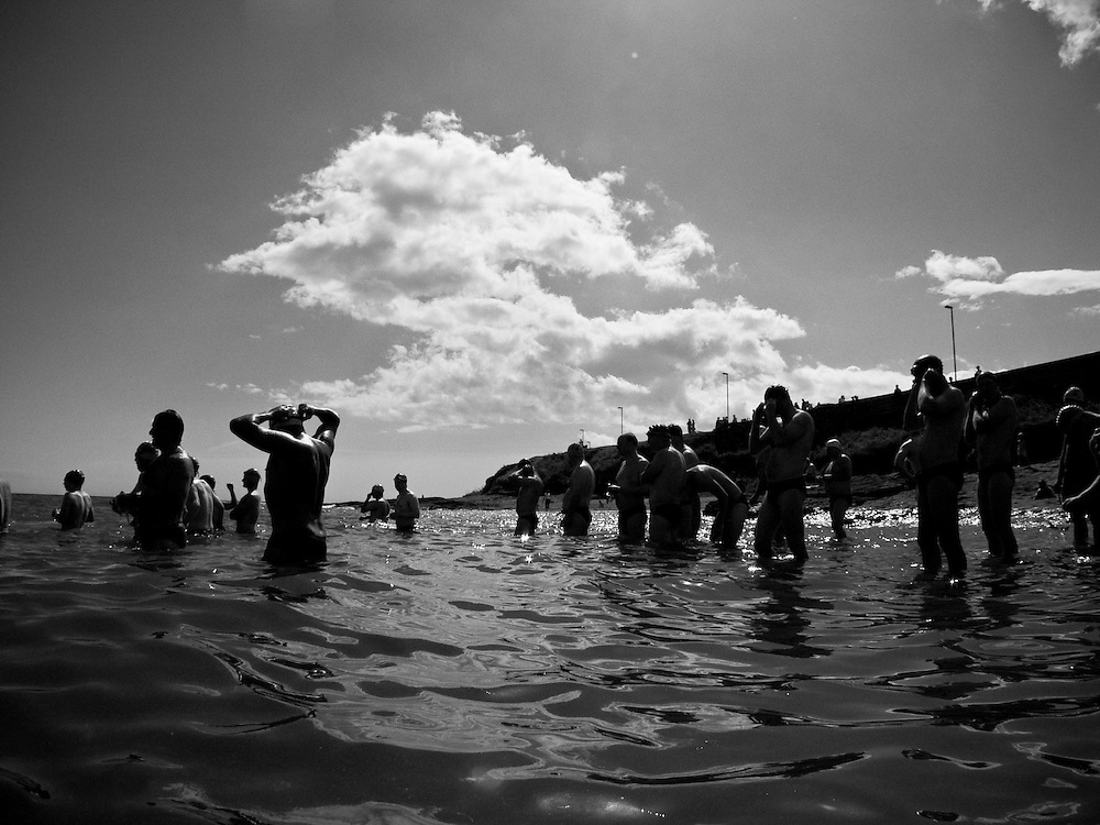 Open Water Swim, Malahide, Co. Dublin, August 2004.