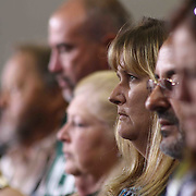 Family and friends watch McKean 49th commencement exercises Saturday, June 06, 2015, at The Bob Carpenter Sports Convocation Center in Newark, Delaware.