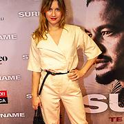 NLD/Amsterdam/20200217-Suriname filmpremiere, actrice Anne van der Burg