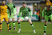 Forest Green Rovers Chris Stokes(30) during the EFL Sky Bet League 2 match between Forest Green Rovers and Port Vale at the New Lawn, Forest Green, United Kingdom on 11 February 2020