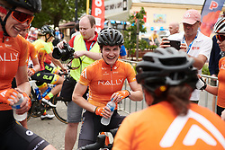 Heidi Franz (USA) after Stage 1 of 2020 Santos Women's Tour Down Under, a 116.3 km road race from Hahndorf to Macclesfield, Australia on January 16, 2020. Photo by Sean Robinson/velofocus.com