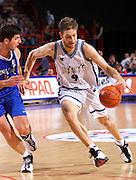 Francia 02/07/1999<br /> Campionati Europei di Basket Francia 1999<br /> Italia-Jugoslavia<br /> Alessandro De Pol