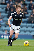 5th May 2018, Dens Park, Dundee, Scotland; Scottish Premier League football, Dundee versus Hamilton Academical; Mark O'Hara of Dundee bleeding from the mouth after losing two teeth