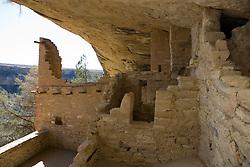 Balcony House ruins, Mesa Verde National Park, near Cortez, Colorado.