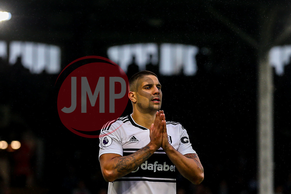 Aleksandar Mitrovic of Fulham cuts a frustrated figure - Mandatory by-line: Robbie Stephenson/JMP - 26/08/2018 - FOOTBALL - Craven Cottage - Fulham, England - Fulham v Burnley - Premier League
