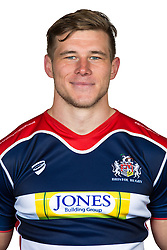 Jason Woodward of Bristol Rugby Poses for a headshot  - Rogan Thomson/JMP - 08/11/2016 - RUGBY UNION - Clifton Rugby Club - Bristol, England - Bristol Rugby Training.