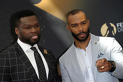 """50 cent"" Curtis Jackson and Omari Hardwick attending ""Power"" photocall durinh 57th Montecarlo Television Festival. 20 Jun 2017 Pictured: 50 cent Curtis Jackson, Omari Hardwick. Photo credit: maximon / MEGA TheMegaAgency.com +1 888 505 6342"