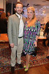ALEXANDER & ALEXANDRA MAVROS at a pre christmas party & shopping evening at Patrick Mavros, 104-106 Fulham Road, London on 26th November 2014.