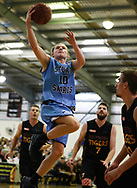 01/04/2017 Premier League Round 1: Sturt Sabres vs Southern Tigers at Pasadena.  Sturt Issac White drives to the basket. Photos By AllStar Photos.