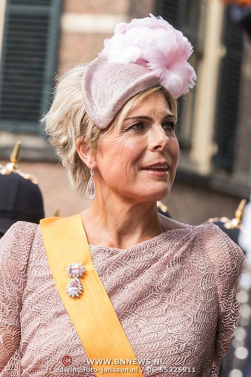 NLD/Den Haag/20190917 - Prinsjesdag 2019, Prinses Laurentien