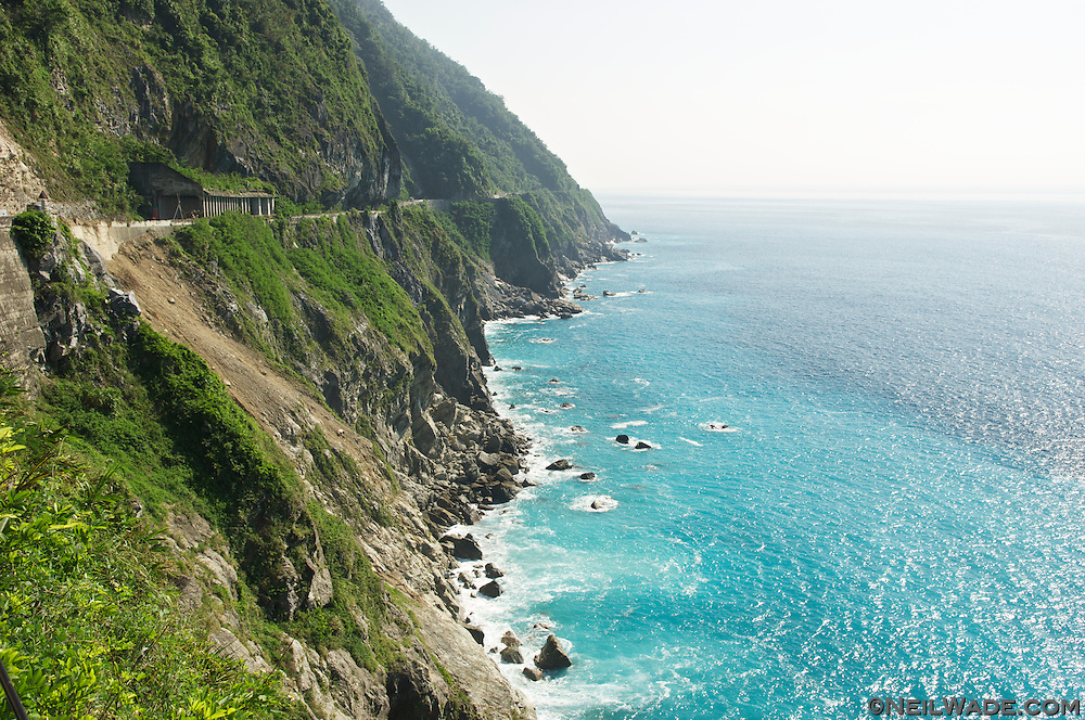 The Qingshui Cliffs, on the Suhua Highway, are a dramatic introduction to Taiwan's east coast for any visitor.