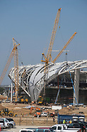 The processing of Rams new stadium