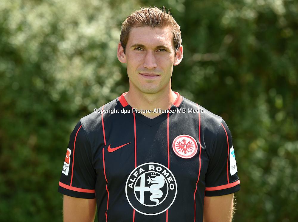 German Soccer Bundesliga 2015/16 - Photocall Eintracht Frankfurt on 15 July 2015 in Frankfurt, Germany: Stefan Reinartz.