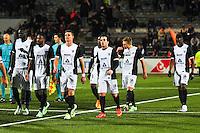 Deception groupe Metz  - 13.12.2014 - Lorient / Metz  - 18eme journee de Ligue1<br />Photo : Philippe Lebrech / Icon Sport