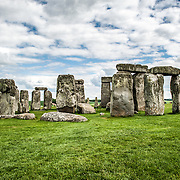 Stonehenge Standing Stones. Believed to have been built somewhere between 2000 and 3000 BC, Stonehenge is one of the United Kingdom's most distinctive landmarks and a major tourist draw. It's function and purpose remains a matter of conjecture, although many theories have been offered. It consists of a series of large standing stones, some of which have toppled over the centuries. Stonehenge is located in Salisbury Plain west of London.