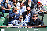 Cyril ELDIN / Herve MATHOUX  - 28.05.2015 - Jour 5 - Roland Garros 2015<br /> Photo : Nolwenn Le Gouic / Icon Sport