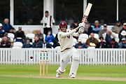 Craig Overton of Somerset batting during the third day of the Specsavers County Champ Div 1 match between Somerset County Cricket Club and Yorkshire County Cricket Club at the Cooper Associates County Ground, Taunton, United Kingdom on 29 April 2018. Picture by Graham Hunt.