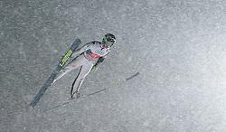 29.12.2014, Schattenbergschanze, Oberstdorf, GER, FIS Ski Sprung Weltcup, 63. Vierschanzentournee, Training, im Bild Peter Prevc (SLO) // Peter Prevc of Slovenia// during practice Jump of 63 rd Four Hills Tournament of FIS Ski Jumping World Cup at the Schattenbergschanze, Oberstdorf, Germany on 2014/12/29. EXPA Pictures © 2014, PhotoCredit: EXPA/ Peter Rinderer